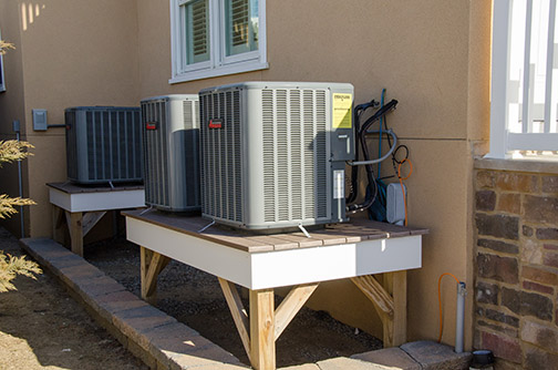Elevated Air Conditioner Units