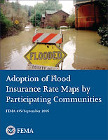 Adoption of Flood Insurance Rate Maps by Participating Communities