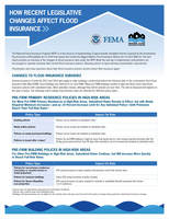 How Recent Legislative Changes Affect Flood Insurance